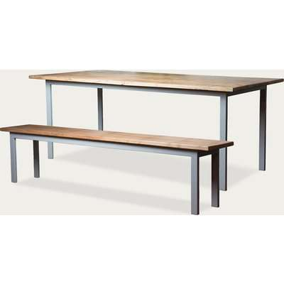Aria Dining Table and 1 Bench Set 150 cm