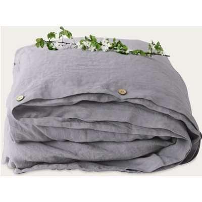 Ash Washed Linen Duvet Cover