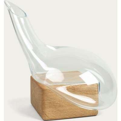 Bastarda Glass Decanter + Block