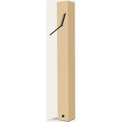 Beech Wood Finished Totem Table Clock