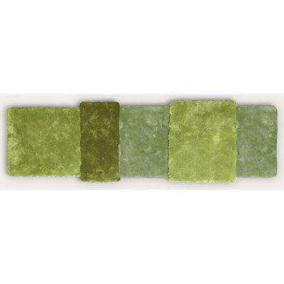 Green Over Stripe Rug