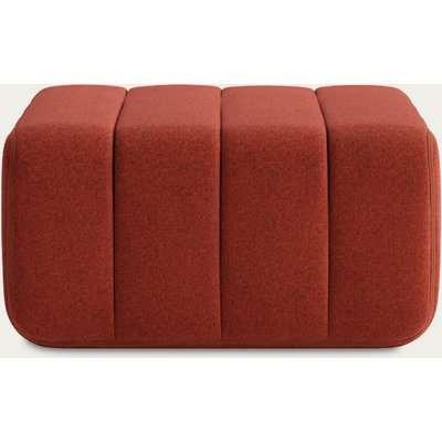 Red Curt Sofa Module - Dama