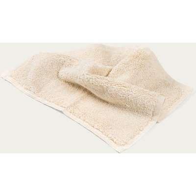 Ecru Plush & Bare Face Cloth