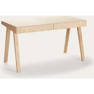 European Ash 2 Drawers 4.9 Desk
