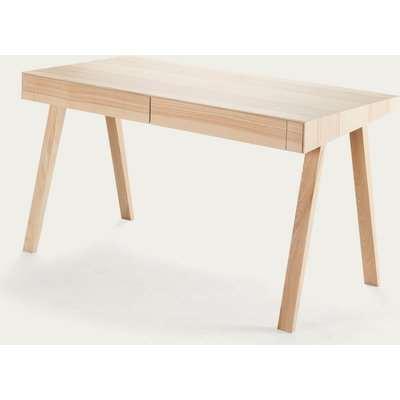 Lithuanian Ash 2 Drawers 4.9 Desk