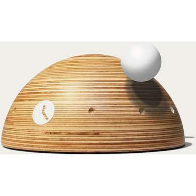 Marine Wood Finished Dome Table Clock