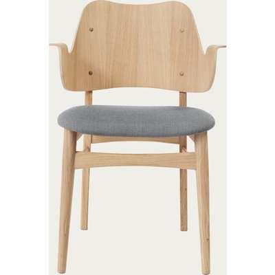 Grey Melange Gesture Dining Chair