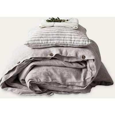 Melange Washed Linen Duvet Cover