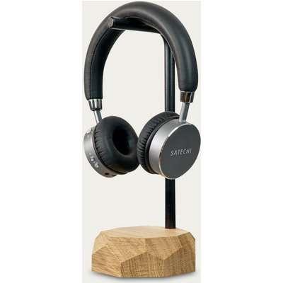 Oak Headphone Stand