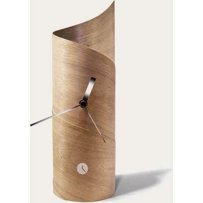 Oak Surf Table Clock