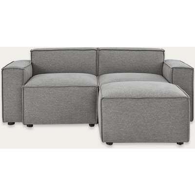 Shadow Model 03 Linen 2 Seater Right Chaise Sofa