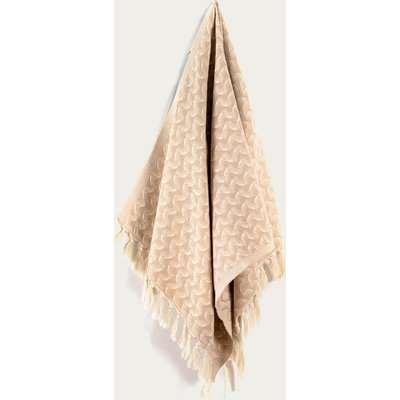 Tan Silent Ripple Hand Towel