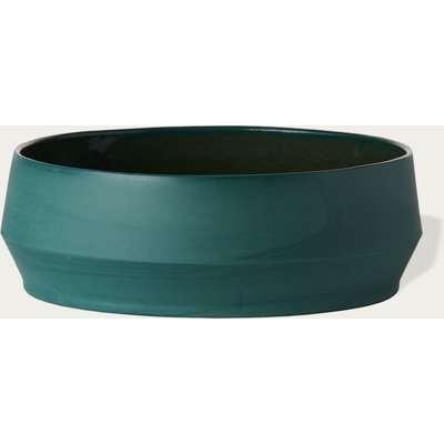Teal Unison Soup Bowl