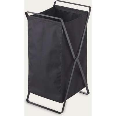 Black Tower Laundry Basket