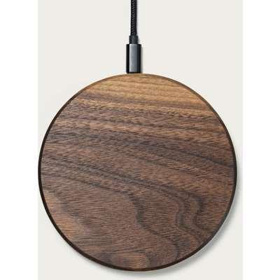 Walnut Slim Wireless Charging Pad
