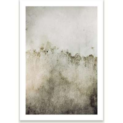 Washed Wall Art Print Unframed
