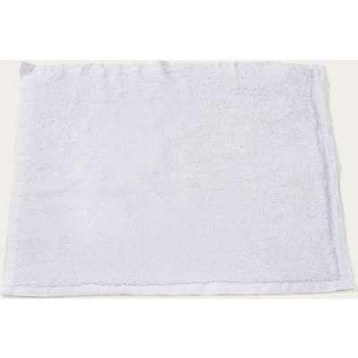 White Plush & Bare Face Cloth