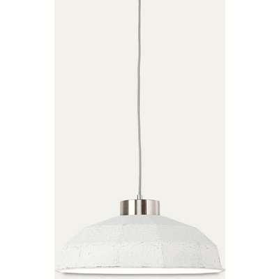 White Yosemite Paperpulp Hanging Lamp
