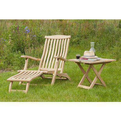 Alexander Rose Roble Steamer Chair