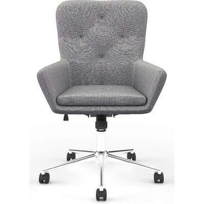 Alphason Benjamin Dark Grey Fabric Office Chair