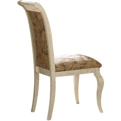 Arredoclassic Leonardo Italian Fabric Dining Armchair (Pair)