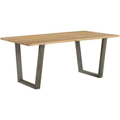 Urban Elegance Reclaimed Wood Dining Table - Baumhaus