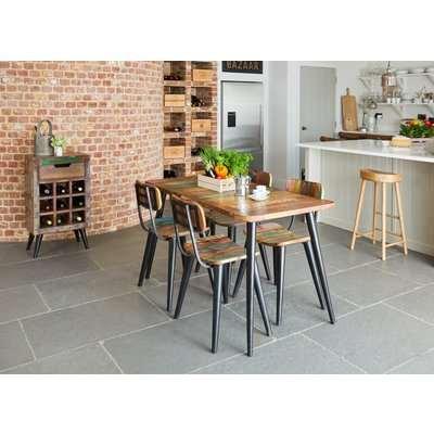 Coastal Chic Dining Table - Small Rectangular - Baumhaus