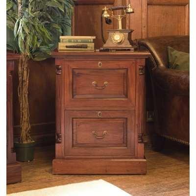 La Roque Mahogany Corner Television Cabinet - Baumhaus