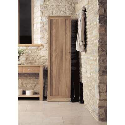 Mobel Oak Shoe Cupboard - Tall - Baumhaus