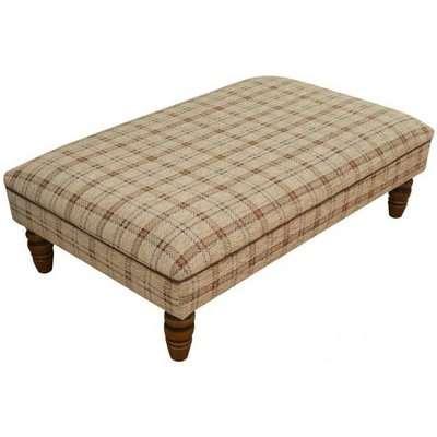 Buoyant Finley Fabric Footstool
