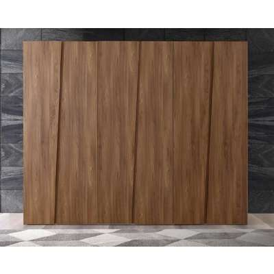 Camel Akademy Italian Wooden 5 Door Wardrobe