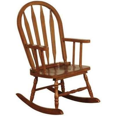 Childs Oak Rocking Chair