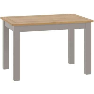 Classic Portland Fixed Top Dining Table -Stone