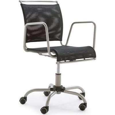 Connubia Air Race Metal Swivel Office Chair with Armrest