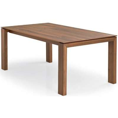 Connubia Sigma Wooden Rectangular Drop Leaf Extending Dining Table - 180cm-240cm