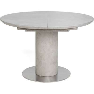 Delta Concrete Round Extending Dining Table