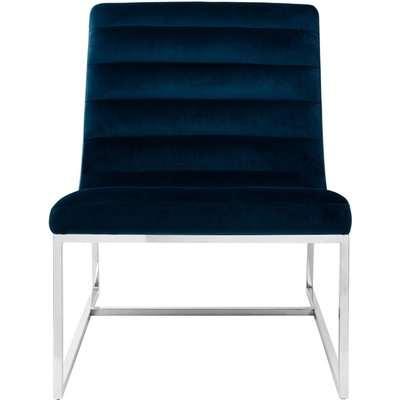 Envi Midnight Velvet Cocktail Chair