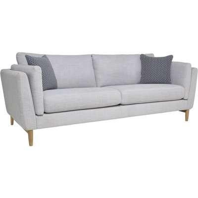 Ercol Favara Fabric 3 Seater Large Sofa