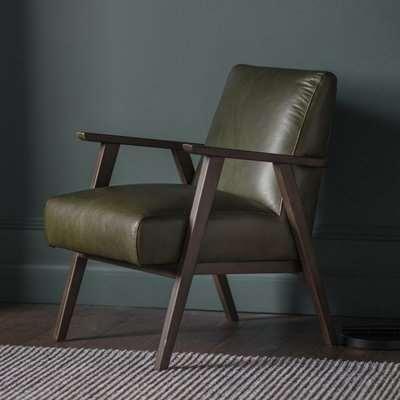 Gallery Direct Neyland Pebble Linen Fabric Armchair