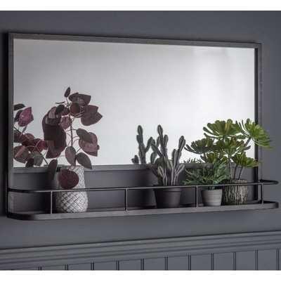 Gallery Emerson Grey Overmantel Mirror