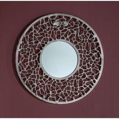 Gallery Verdant Silver Round Mirror