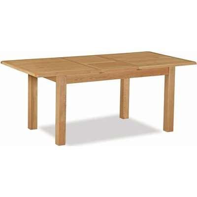 Global Home Salisbury Lite Oak Rectangular Extending Dining Table - 150cm-195cm