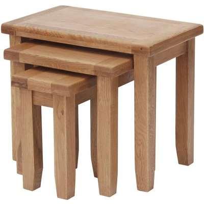 Hampshire Oak Nest of Tables