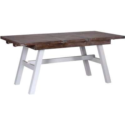 Hamptons Painted Extending Dining Table - Besp Oak