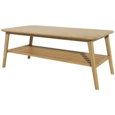 Homestyle GB Scandic Oak Storage Coffee Table