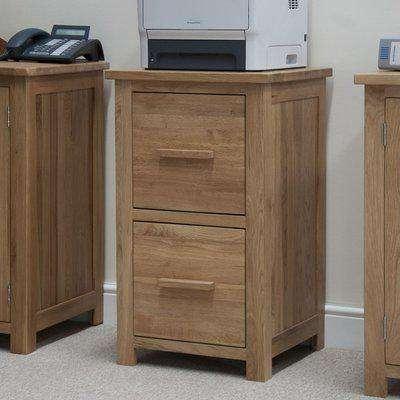 Homestyle Opus Oak Filing Cabinet