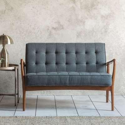 Humber Linen 2 Seater Sofa - Gallery Frank Hudson