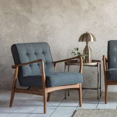 Humber Linen Armchair - Gallery Frank Hudson