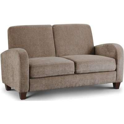 Julian Bowen Vivo Mink Chenille 2 Seater Sofa