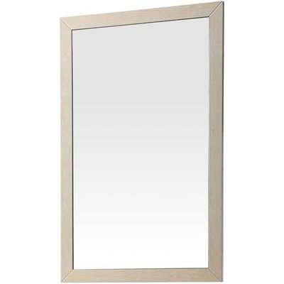 London Cream High Gloss 2 Door Double Wardrobe -  2 Mirror